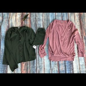 Charlotte Russe Women's Large Tops